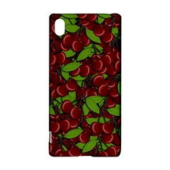 Cherry Pattern Sony Xperia Z3+ by Valentinaart