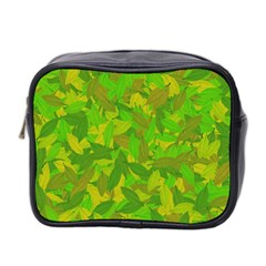 Green Autumn Mini Toiletries Bag 2 Side by Valentinaart