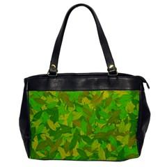 Green Autumn Office Handbags by Valentinaart