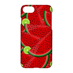 Watermelon Slices Apple Iphone 7 Hardshell Case by Valentinaart