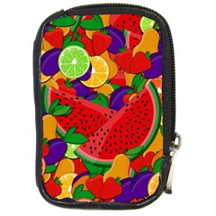 Summer Fruits Compact Camera Cases by Valentinaart
