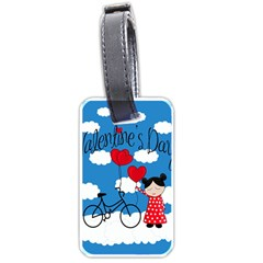 Girls Daydream Luggage Tags (one Side)  by Valentinaart