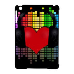 Love Music Apple Ipad Mini Hardshell Case (compatible With Smart Cover) by Valentinaart