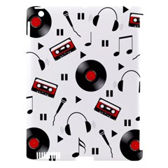 Music Pattern Apple Ipad 3/4 Hardshell Case (compatible With Smart Cover) by Valentinaart