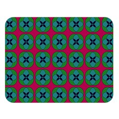 Geometric Patterns Double Sided Flano Blanket (large)  by Nexatart