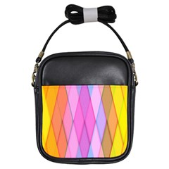 Graphics Colorful Color Wallpaper Girls Sling Bags by Nexatart