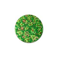 Green Holly Golf Ball Marker (10 Pack) by Nexatart