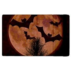 Halloween Card Scrapbook Page Apple Ipad 3/4 Flip Case by Nexatart