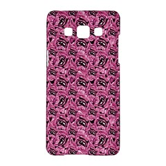 Floral Pink Collage Pattern Samsung Galaxy A5 Hardshell Case  by dflcprints