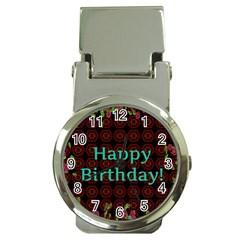 Happy Birthday! Money Clip Watches by Nexatart