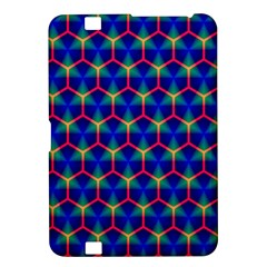 Honeycomb Fractal Art Kindle Fire Hd 8 9  by Nexatart