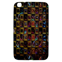 Kaleidoscope Pattern Abstract Art Samsung Galaxy Tab 3 (8 ) T3100 Hardshell Case  by Nexatart