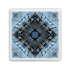 Jeans Background Memory Card Reader (square)  by Nexatart