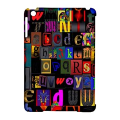 Letters A Abc Alphabet Literacy Apple Ipad Mini Hardshell Case (compatible With Smart Cover) by Nexatart