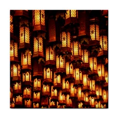 Light Art Pattern Lamp Tile Coasters by Nexatart