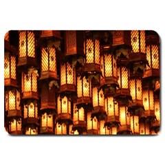 Light Art Pattern Lamp Large Doormat