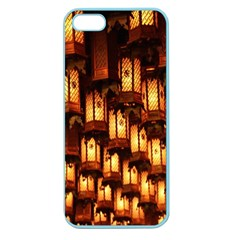 Light Art Pattern Lamp Apple Seamless Iphone 5 Case (color) by Nexatart