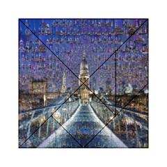 London Travel Acrylic Tangram Puzzle (6  x 6 ) by Nexatart