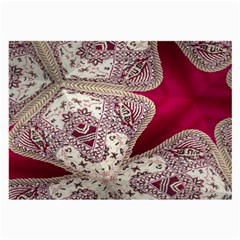 Morocco Motif Pattern Travel Large Glasses Cloth (2 Side) by Nexatart