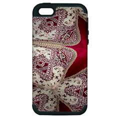 Morocco Motif Pattern Travel Apple Iphone 5 Hardshell Case (pc+silicone) by Nexatart