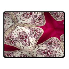 Morocco Motif Pattern Travel Double Sided Fleece Blanket (small)  by Nexatart
