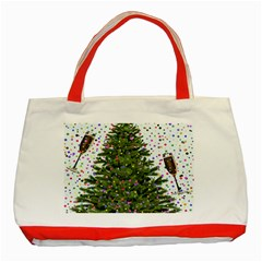 New Year S Eve New Year S Day Classic Tote Bag (red) by Nexatart