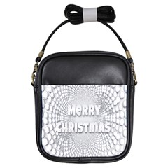 Oints Circle Christmas Merry Girls Sling Bags by Nexatart