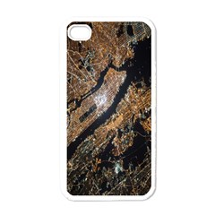 Night View Apple iPhone 4 Case (White)