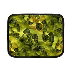 Olive Seamless Camouflage Pattern Netbook Case (small)  by Nexatart