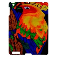 Parakeet Colorful Bird Animal Apple Ipad 3/4 Hardshell Case by Nexatart