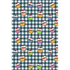 Cupcakes Plaid Pattern 5 5  X 8 5  Notebooks by Valentinaart