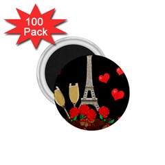 Pariz 1 75  Magnets (100 Pack)  by Valentinaart