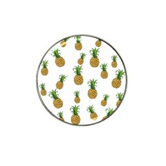 Pineapples pattern Hat Clip Ball Marker by Valentinaart