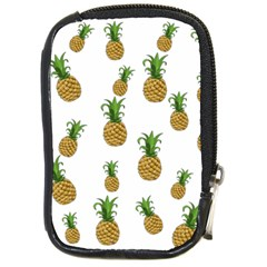 Pineapples Pattern Compact Camera Cases by Valentinaart