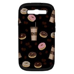 Coffee Break Samsung Galaxy S Iii Hardshell Case (pc+silicone) by Valentinaart
