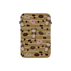 Coffee And Donuts  Apple Ipad Mini Protective Soft Cases by Valentinaart