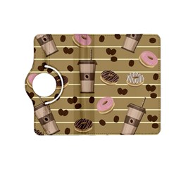 Coffee And Donuts  Kindle Fire Hd (2013) Flip 360 Case by Valentinaart