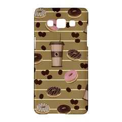 Coffee And Donuts  Samsung Galaxy A5 Hardshell Case  by Valentinaart