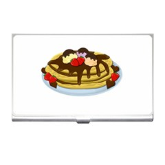 Pancakes   Shrove Tuesday Business Card Holders by Valentinaart