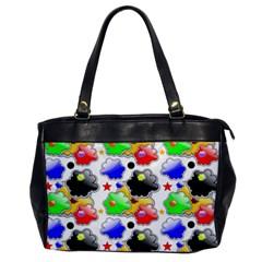 Pattern Background Wallpaper Design Office Handbags by Nexatart