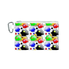 Pattern Background Wallpaper Design Canvas Cosmetic Bag (s) by Nexatart
