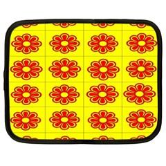 Pattern Design Graphics Colorful Netbook Case (xxl)  by Nexatart