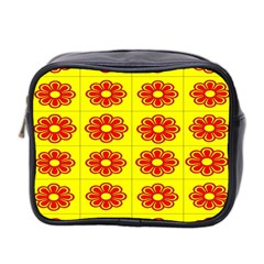 Pattern Design Graphics Colorful Mini Toiletries Bag 2 Side