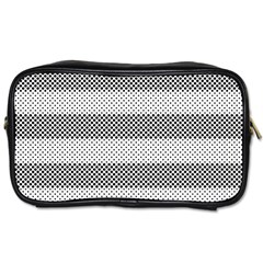 Pattern Half Tone Toiletries Bags