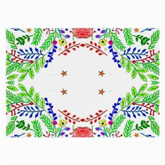 Holiday Festive Background With Space For Writing Large Glasses Cloth by Nexatart
