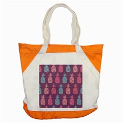 Pineapple Pattern  Accent Tote Bag by Nexatart