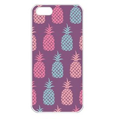 Pineapple Pattern  Apple Iphone 5 Seamless Case (white) by Nexatart