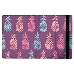 Pineapple Pattern  Apple Ipad 3/4 Flip Case by Nexatart
