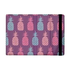 Pineapple Pattern  Apple Ipad Mini Flip Case by Nexatart