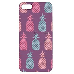 Pineapple Pattern  Apple Iphone 5 Hardshell Case With Stand by Nexatart